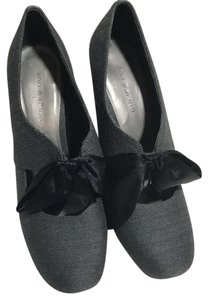 Ann Marino Charcoal Pumps