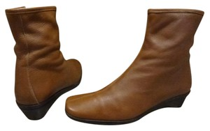 Coach Leather Ankle Italian brown Boots