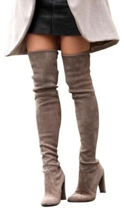 Other Taupe Suede Boots