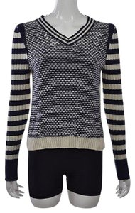 Tory Burch Womens Ivory Sweater