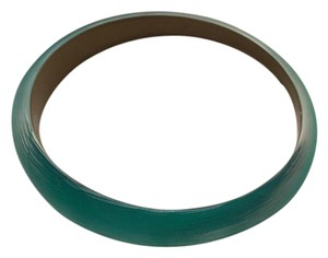 Alexis Bittar Alexis Bittar Skinny Tapered Lucite Bangle Metallic Teal