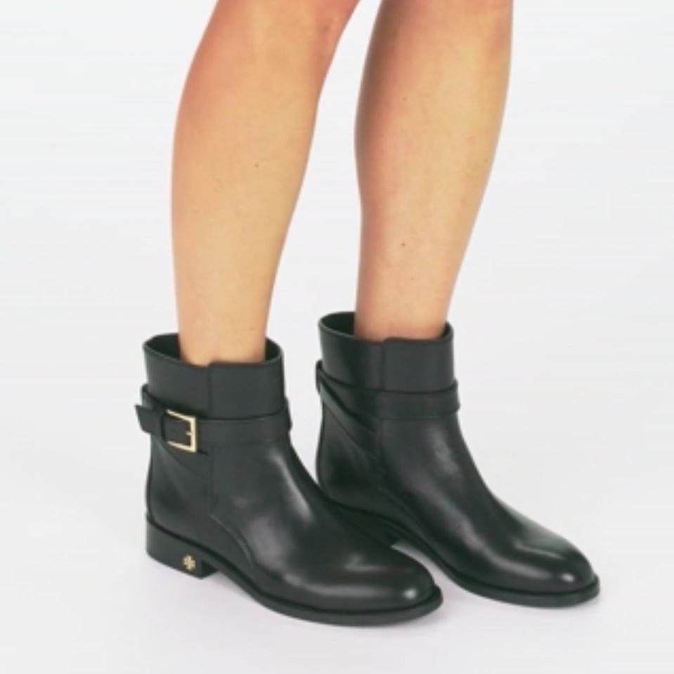 e0344b6fdf98 Tory Burch Black Brooke Ankle Boots Booties Size US 11 Regular (M