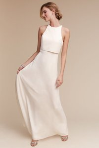 Jill Stuart Iva Crepe Maxi Wedding Dress
