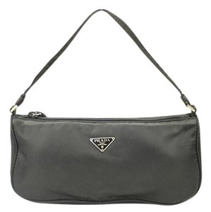 Prada Black Nylon Clutch PRBLM3