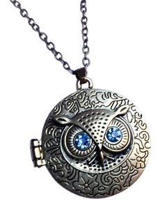 Other Owl Locket Necklace