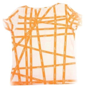 Herms T Shirt Orange
