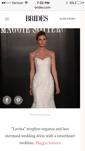 Maggie Sottero Lavina Wedding Dress