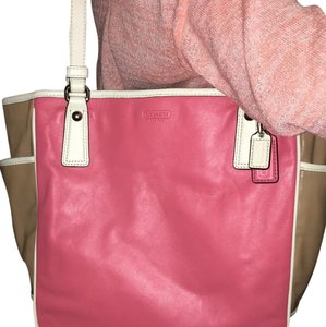 Coach Tote in TAUPE/ROSE