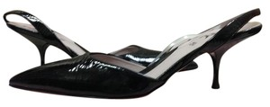 DKNY Patent Leather Black Pumps