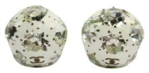 Chanel Crystal Snowball Earrings 48CCA606