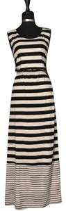 Black & White Maxi Dress by Faded Glory
