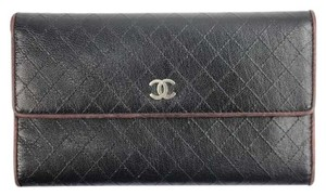 Chanel Quilted Stitch Wallet Classic Flap CCWLM20
