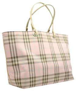 Burberry London Tote in Pink