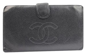 Chanel Caviar Bi-fold Long Wallet CHML1