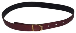 Hermès Red Leather Belt Size 26 In HTL111