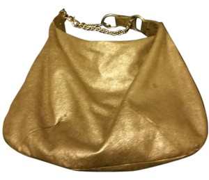 Juicy Couture Satchel in Gold
