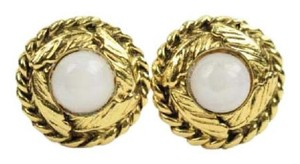 Chanel Leaf Wrapped Clip On Earrings CCJY15 38CCA606