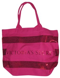 Victoria's Secret Oversized Gym Beach Bling Tote
