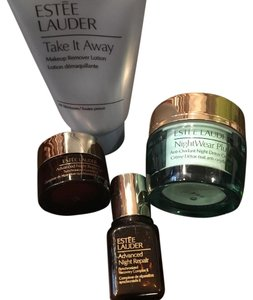Este Lauder Night Repair Eye, Face, Night Detox Creme, Makeup remover lotion