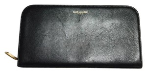 Saint Laurent SAINT LAURENT ZIP AROUND WALLET