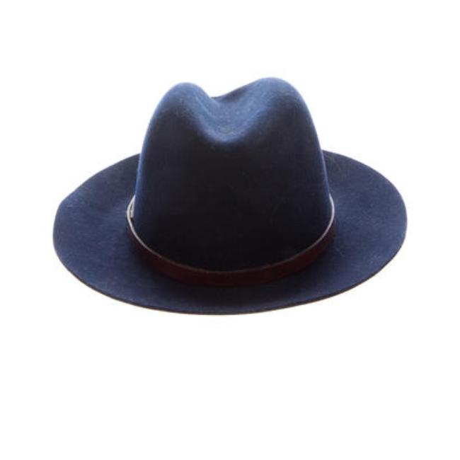 Item - Navy And Floppy Fedora Hat