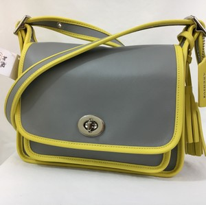 Coach Color-blocking Cross Body Bag