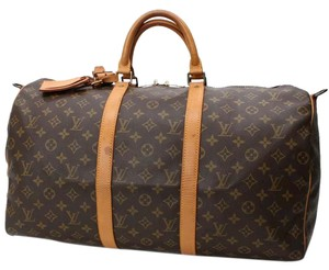 Louis Vuitton Keepall 50 Neverfull Bandouliere Speedy Lv Brown Travel Bag