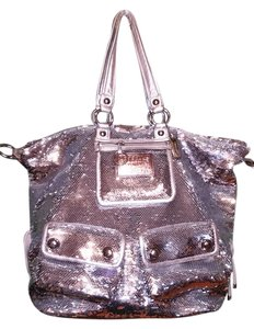 Coach Sequin Box Shoulder Bag