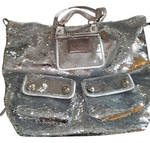 Coach Sequin Dustbag Box Shoulder Bag