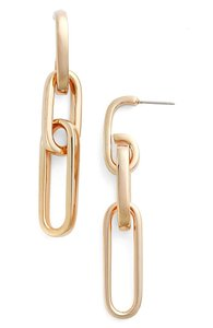 Nordstrom Oval Link Earrings