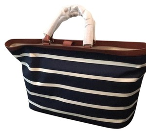 Cole Haan Tote in navy and white
