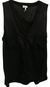 Splendid Button Down Shirt Black