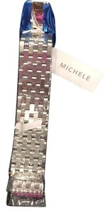 Michele Michele stainless steel band