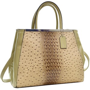 Other Classic The Treasured Hippie Large Handbags Vintage Satchel in Tan