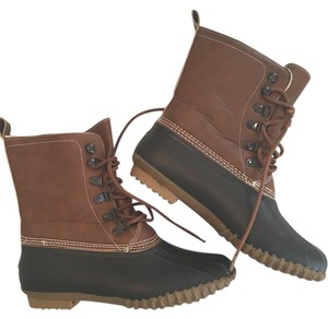 Esprit Duck Boot Snow Boot Camel/Brown/Charcoal/Black Boots