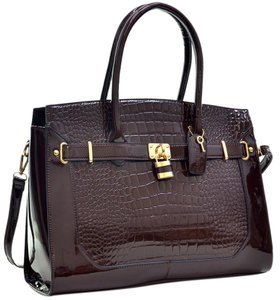 Classic Vintage Satchel in Coffee