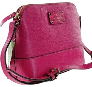 Kate Spade Hanna Pink Leather Cross Body Bag