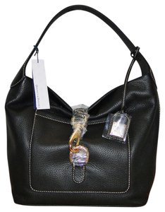 Dooney & Bourke Pebble Leather Lock Sac Hobo Bag
