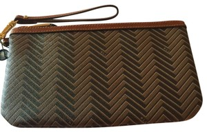 Ralph Lauren Wristlet in brown/tan