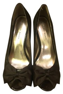 Etienne Aigner Womens Chocolate Pumps