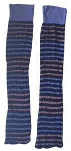 Anthropologie anthropology long strip leg warmers