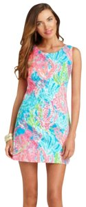 Lilly Pulitzer short dress Blue, Pink, Green, White on Tradesy