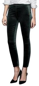 Gap New With Tags Nwt Velvet Hunter green Leggings
