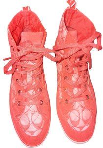 Coach High Top Monogram Coral Athletic