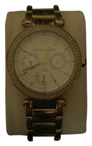Michael Kors Gold watch with white face