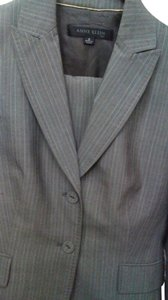Anne Klein Grey stripe pantsuit