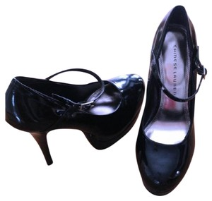 Chinese Laundry Mary Jane Patent Leather Platform Black Pumps