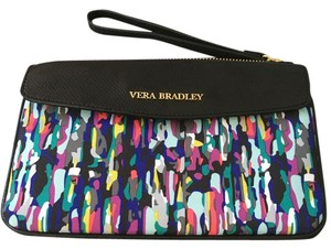 Vera Bradley Black/Multicolored Clutch