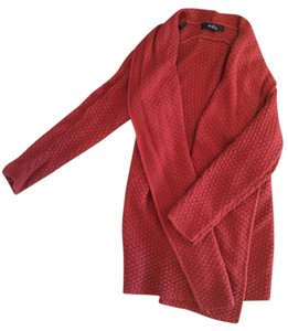Forever 21 Cardigan Flowy Red Sweater