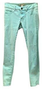 CAbi Thin Mint Straight Leg Jeans-Light Wash